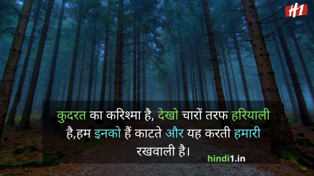 Nature Quotes In Hindi7