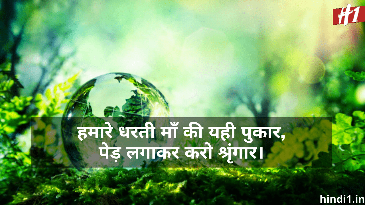 Best Slogans On Environment Day In Hindi