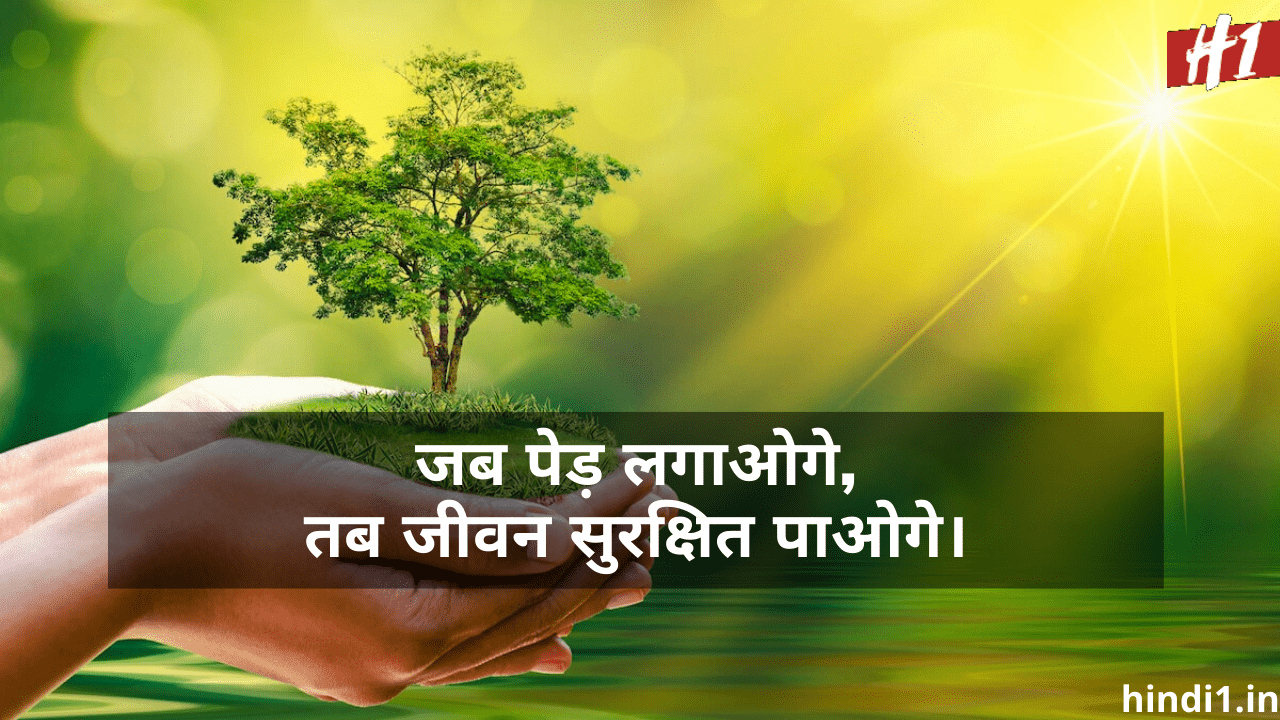 Best Slogans On Environment Day In Hindi2