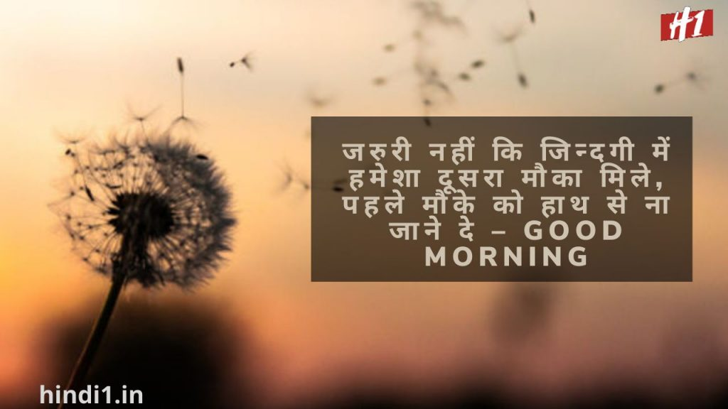 Good Morning Quotes In Hindi With Photo3