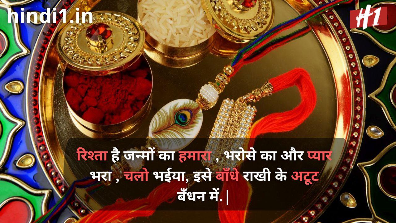 raksha bandhan wishes in hindi7