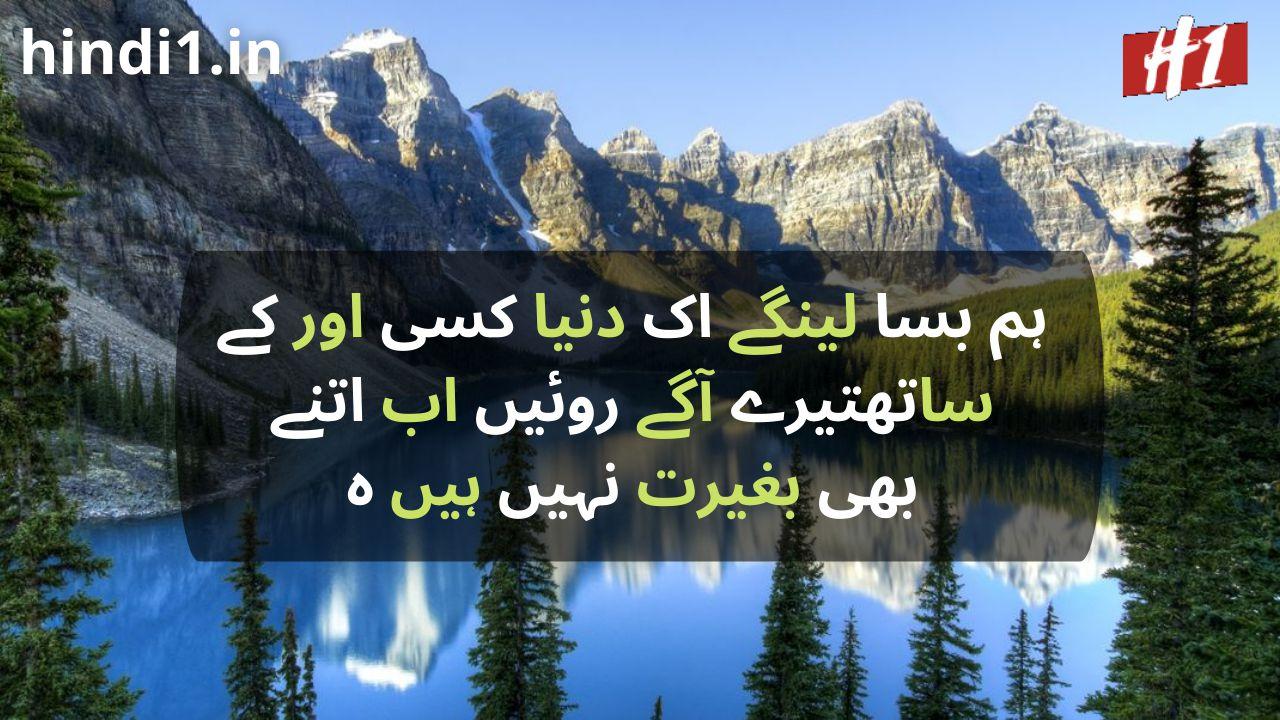 urdu status in urdu language